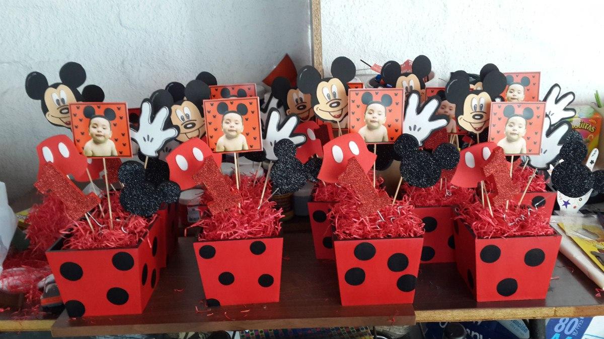 Centros De Mesa Y Souvenirs Mickey Y Minnie - $ 125,00 en Mercado ...