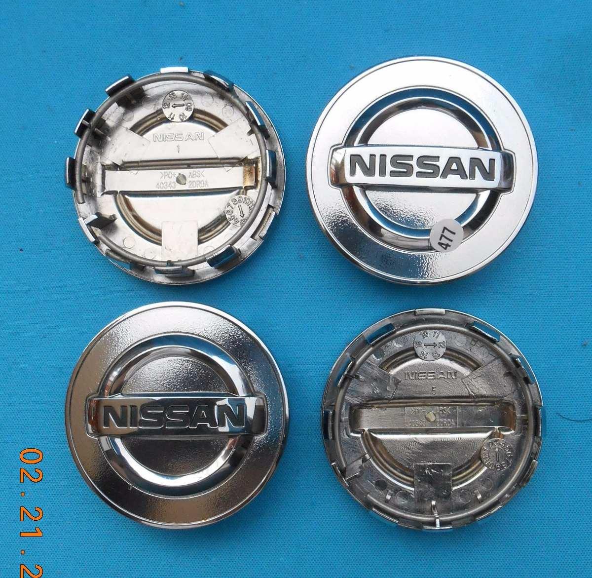 Centros Rin Nissan Altima Maxima Murano Sentra. Jgo 4 Pzas ...
