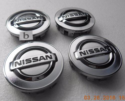 Centros Rin Nissan Altima Maxima Murano Sentra Jgo 4 Pzas
