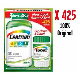 Centrum Adultos 425 Tabletas Multivitami - L a $160