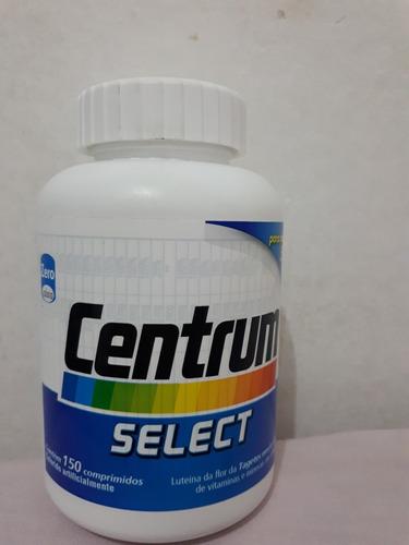 centrum select para adultos  zero calorias  150 comprimidos