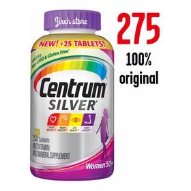 Centrum Silver Mujer X 275 Tabletas Vitamina Mayores De 50