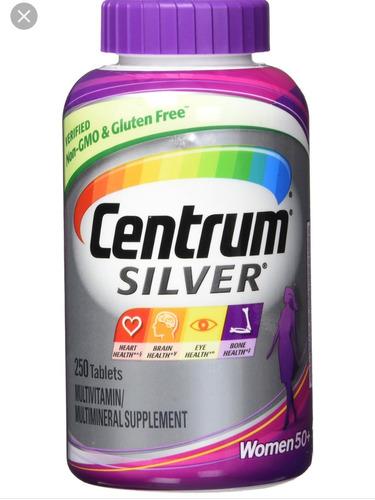centrum silver women 250 comprimidos