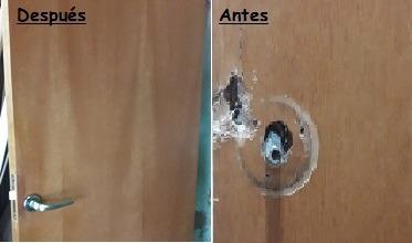 cepillado y adaptación de puertas madera (no pintura)