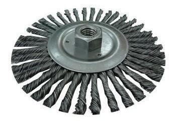 cepillo acero trenzado para grata 5/8` x und clave 5433