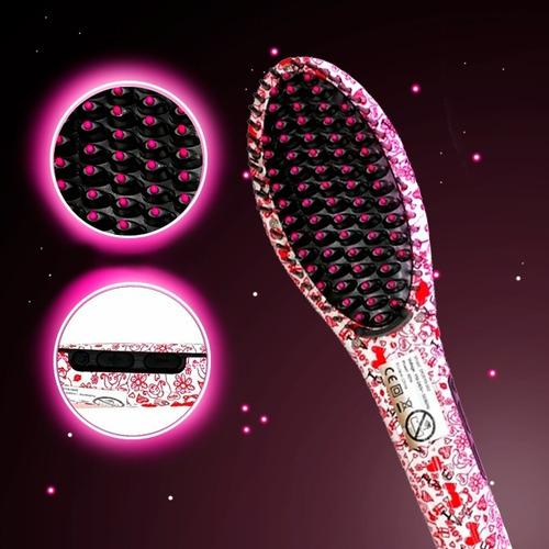 cepillo alaciador con tecnología iónica 4 en 1