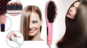 cepillo alisador de cabello