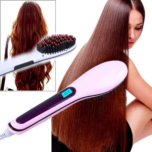 cepillo alisador de cabello con iones 450ºf original 100%