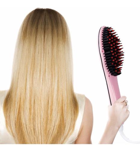cepillo alisador de cabello plancha electrico hair nice home
