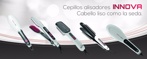 cepillo alisador electrico cabello