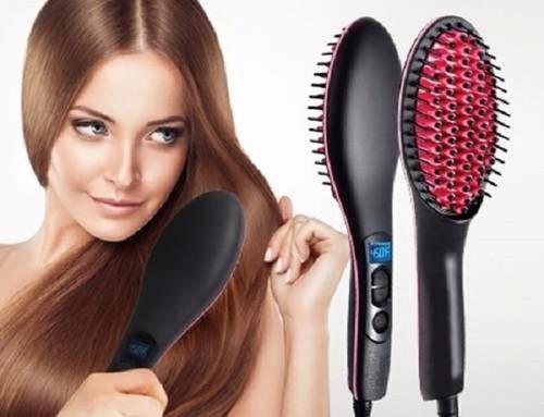 cepillo alisador eléctrico, plancha cabello, gratis rizador.