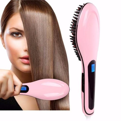cepillo alisador plancha de cabello electrico