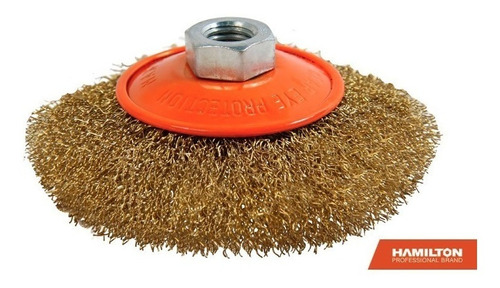 cepillo bronceado amoladora 115 mm hamilton bnr115