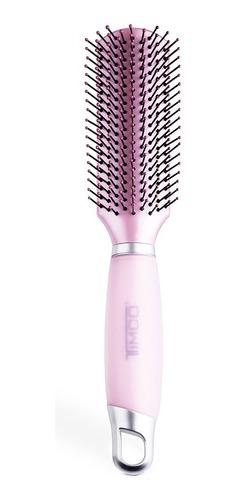cepillo cabello con mango de gel redondo timco csu06v
