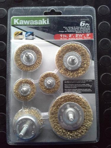 cepillo circular 6 pzas kawasaki mod. 840255