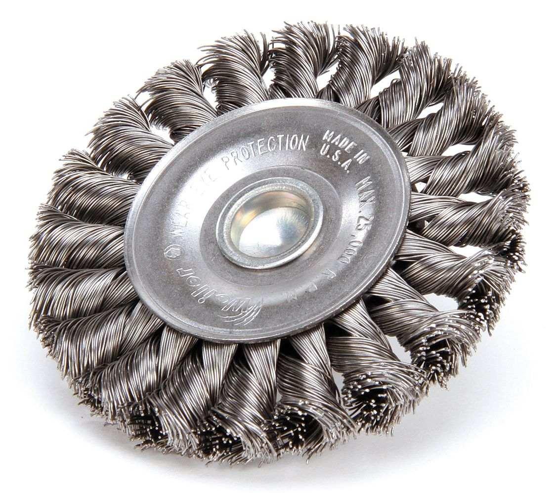 Cepillo Circular Alambre Anudado Tallo 3-1 4 3 8 Weiler -   469.80 en  Mercado Libre 365e8b839f82