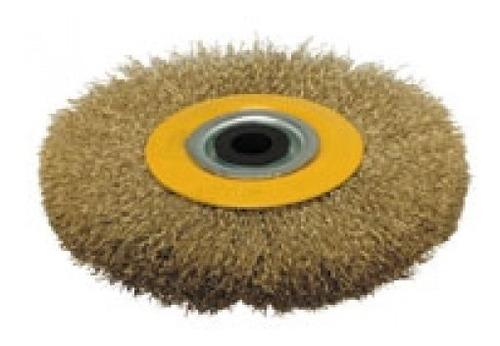 cepillo circular para amoladora de banco 150 mm mota fc150
