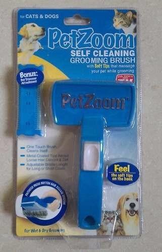 cepillo con cerdas suaves para perros y gatos alivia estrés