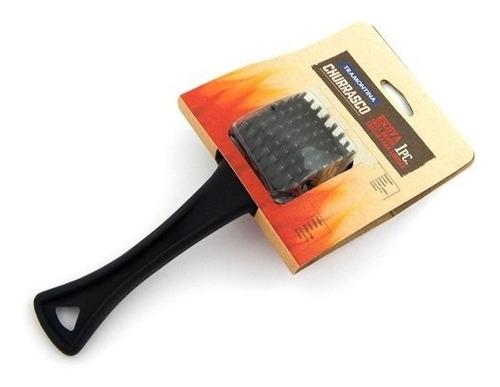 cepillo corto parrilla tramontina acero y polipropileno