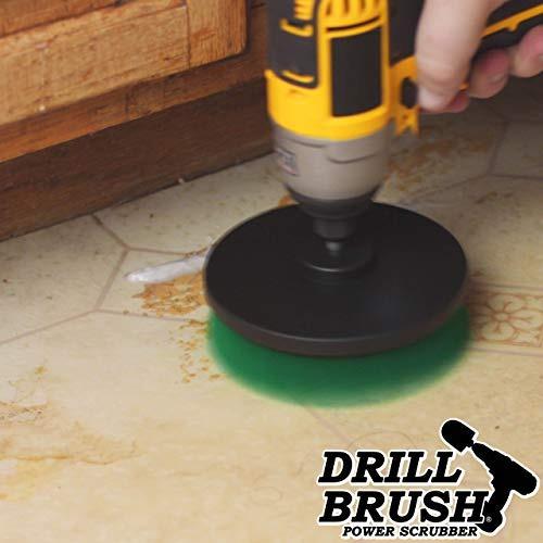 cepillo de alfombras accesorio taladro perforación