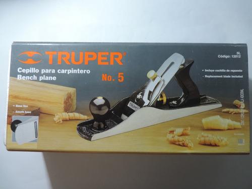 cepillo de carpinteria n° 5 truper manual