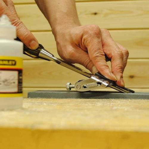 cepillo de carpintero con formon y afilador 16050 stanley
