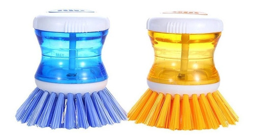 cepillo de cocina detergente limpieza baño colores