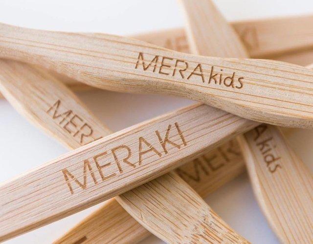 Cepillo De Dientes De Bambú Meraki -biodegradable 38a2b8f78ca6