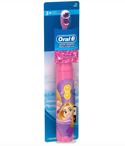 cepillo de dientes electrico  infantil oral b disney