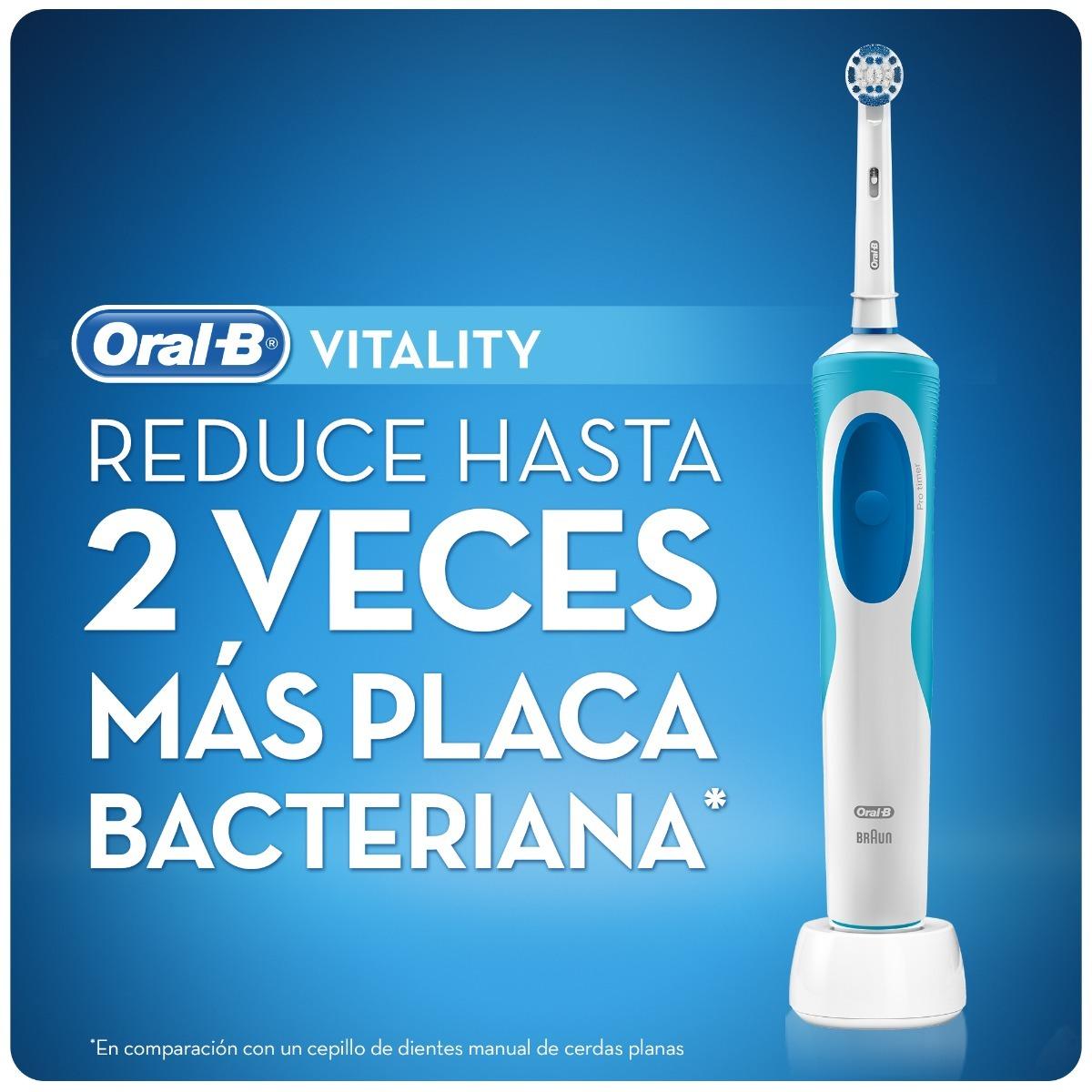 cepillo de dientes eléctrico oral-b 500 prof.+ 4 repuestos. Cargando zoom. bfea86f08ae9