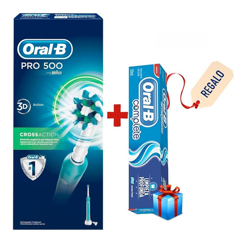 cepillo de dientes eléctrico oral-b 500 professional care