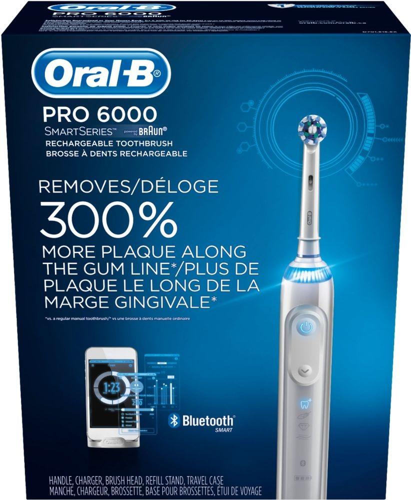 Cepillo De Dientes Eléctrico Oral-b - Smartseries Pro 6000 -   665.550 en Mercado  Libre c7671eb33036