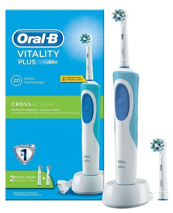 Cepillo De Dientes Eléctrico Recargable Oral B + 1 Repuesto ... 1d1b06969121