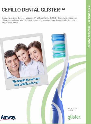 cepillo de dientes glister