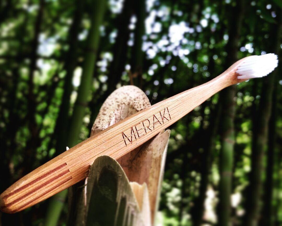 cepillo de dientes meraki ecológico de bambú. Cargando zoom. d17bacb3a661