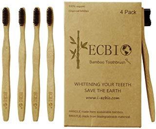 cepillo de dientes natural orgánico de bambú de envio gratis