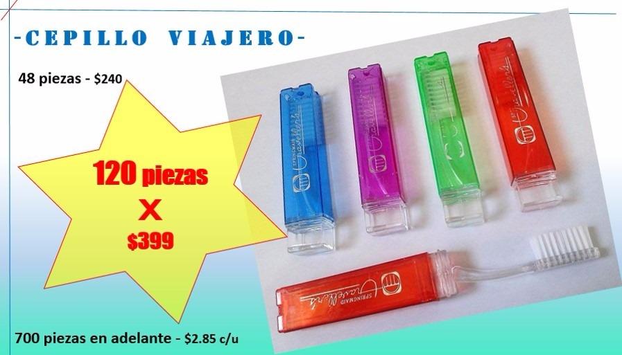 Cepillo De Dientes Viajero -   3.30 en Mercado Libre 50cd03482891