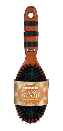 cepillo de madera con cerdas naturales conair 87302mx