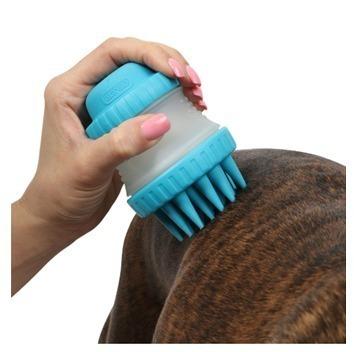 cepillo de silicona porta shampoo mascotas - dexas