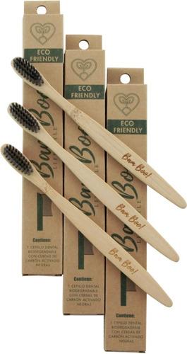 cepillo dental biodegradable de bam boo! lifestyle®