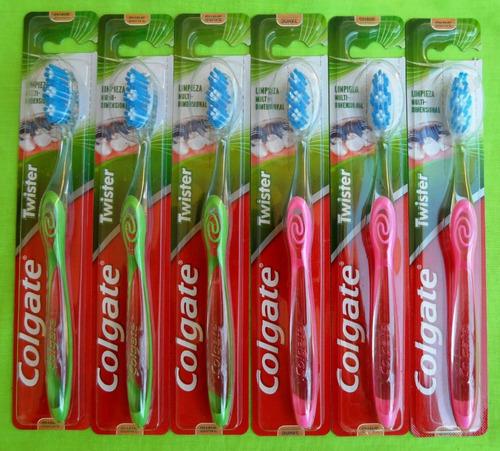cepillo dental cepillo de dientes (colgate twister) al mayor