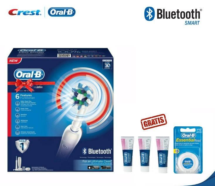 Cepillo Dental Eléctrico Oral-b 5000 Tecnología Bluetooth ... 271d2a585c0d