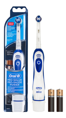 cepillo dental electrico oral b pro salud power a pila