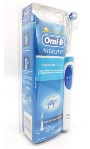 cepillo dental eléctrico oral-b vitality precision clean 1pz