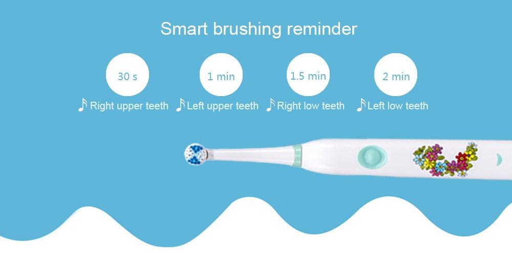 cepillo dental eléctrico para niños con música vibración. Cargando zoom. c990ec21ad14
