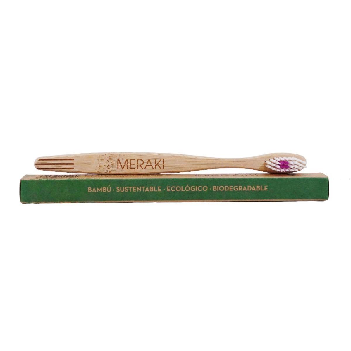 cepillo dental meraki de bambú ecológico - biodegradable. Cargando zoom. 71faca169750