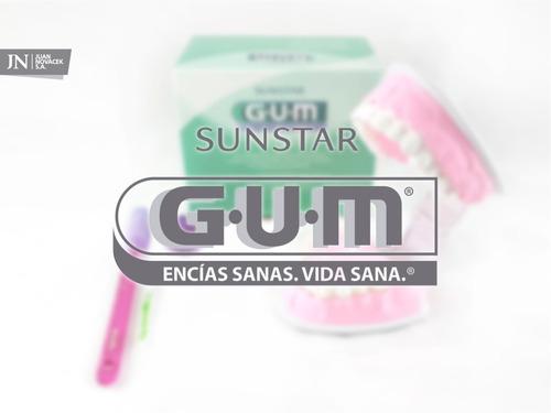 cepillo dental ortodoncia kit gum - novacekdental