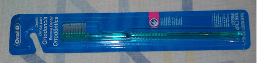 cepillo dental para ortodoncia oral-b original importado