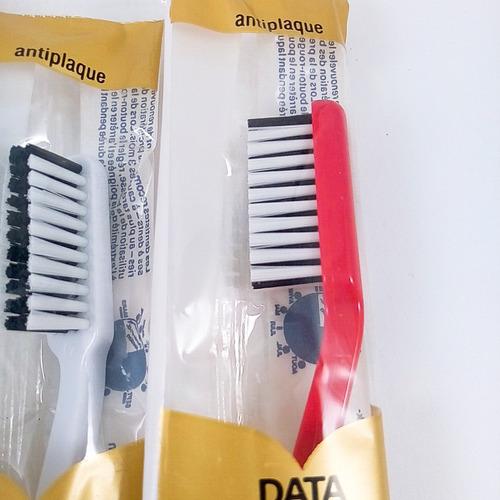 cepillo dental trisa  pack x 20 origen suiza novacekdental