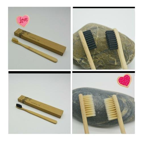 cepillo dientes bambu carbon activo suave bambu con caja